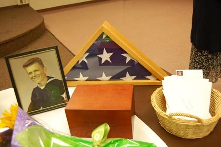 Photo at Allen's Memorial.