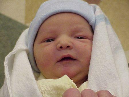 Photos of baby Ben
