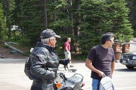Photos of Mt. Rainier 2008.