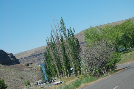 photo of Palouse Falls 2013.