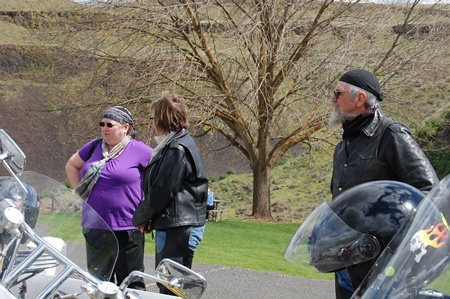 Photo of 2012 Palouse Falls ride.