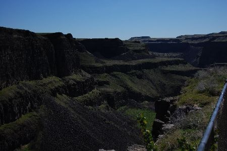 Photo of Palouse Falls.