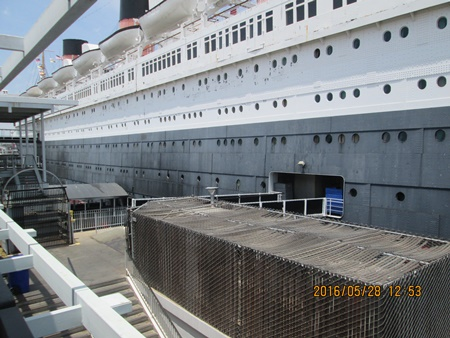 Photos of the Queen Mary.