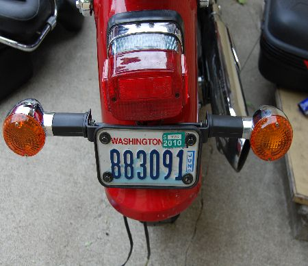 Photo of turn signals.