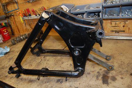 Pics of swing arm maintenance.