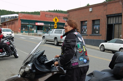 photo taken in Roslyn at the 2012 SCRC Brick ride.