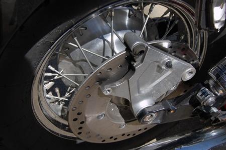 Rear tire replace photos.