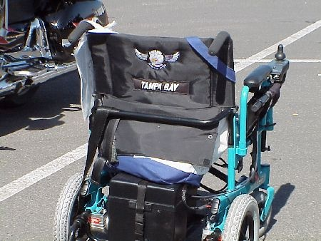 Wheel Chair Relay photo.